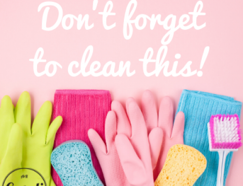Don't Forget to Clean This!