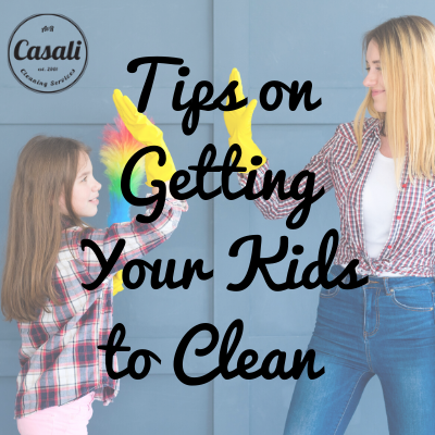 Tips on Getting Your Kids to Clean