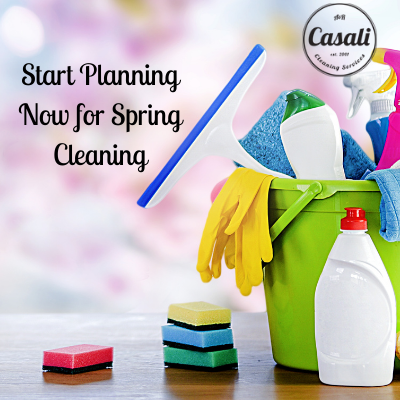 Start Planning Now for Spring Cleaning